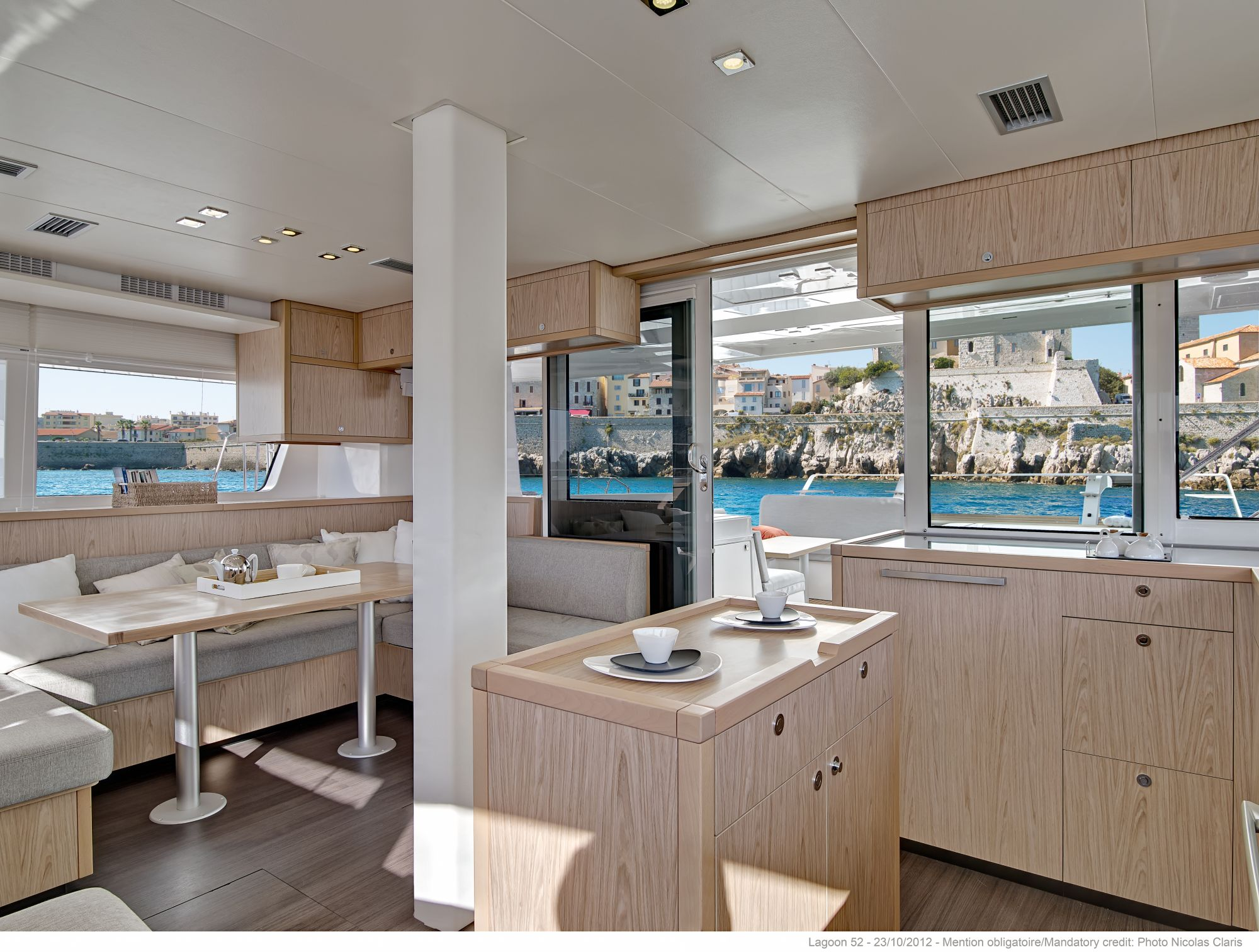 New Sail Catamaran for Sale 2019 Lagoon 52 F Galley