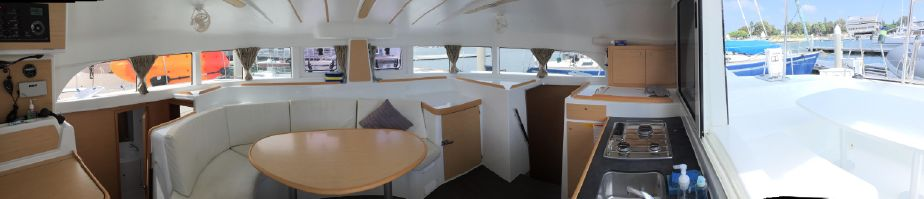 Used Sail Catamarans for Sale 2015 Lagoon 380 Layout & Accommodations