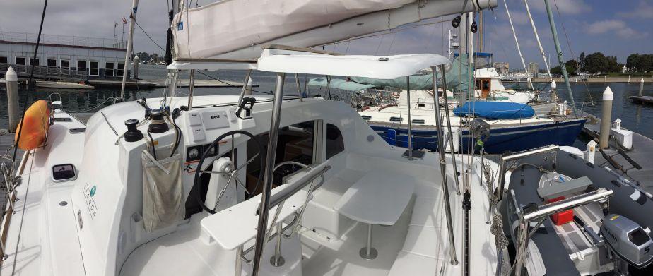 Used Sail Catamarans for Sale 2015 Lagoon 380 Deck & Equipment