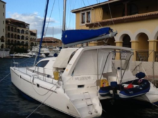 Used Sail Catamarans for Sale 1999 Leopard 38 Boat Highlights