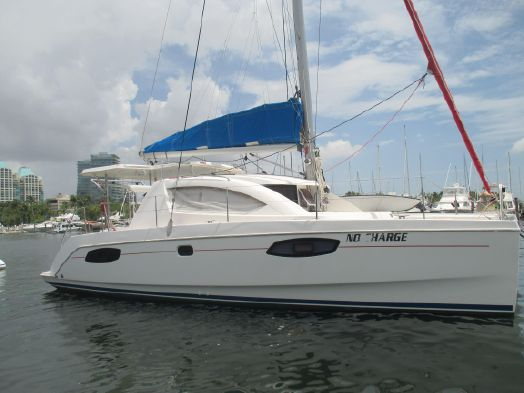 Used Sail Catamarans for Sale 2010 Leopard 38 Boat Highlights