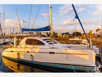 Used Sail Catamarans for Sale 2005 Leopard 40