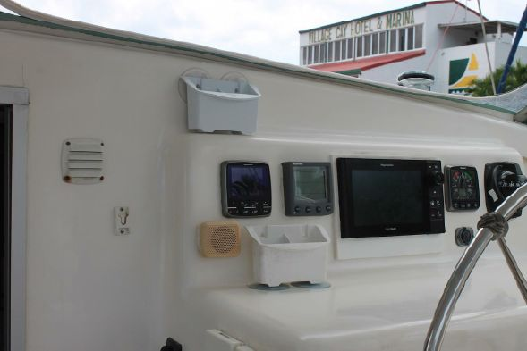 Used Sail Catamarans for Sale 2000 Admiral 38 Electronics & Navigation