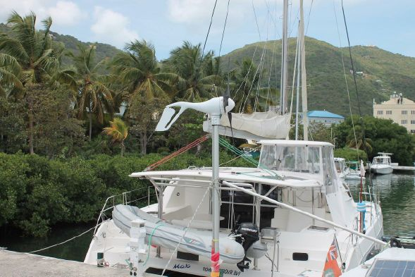 Used Sail Catamaran for Sale 2000 Admiral 38 Boat Highlights