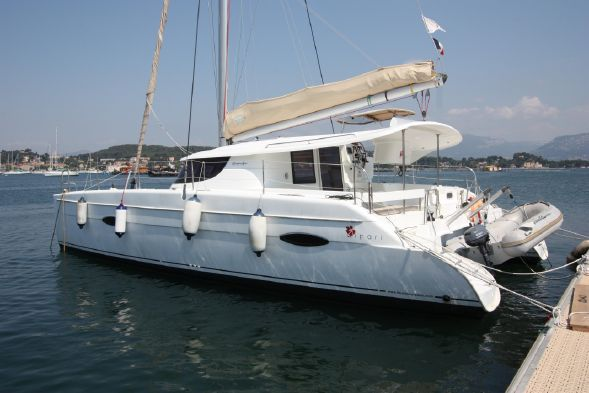 Preowned Sail Catamarans for Sale 2012 Lipari 41