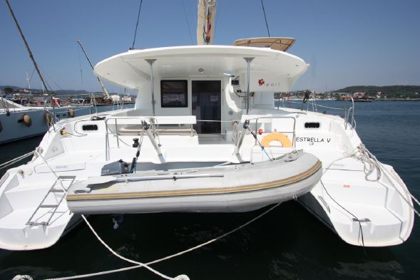Preowned Sail Catamarans for Sale 2012 Lipari 41 Boat Highlights