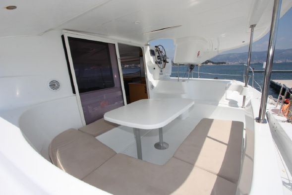 Preowned Sail Catamarans for Sale 2012 Lipari 41 Deck & Equipment