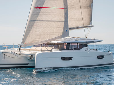 New Sail Catamaran for Sale  Astrea 42 Boat Highlights