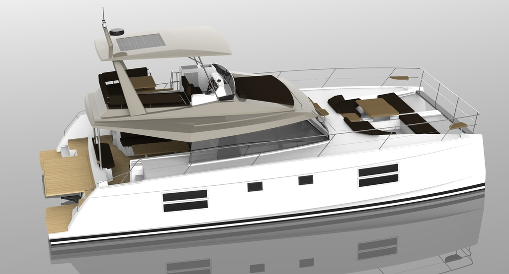 New Power Catamarans for Sale  Nautitech 47 Boat Highlights