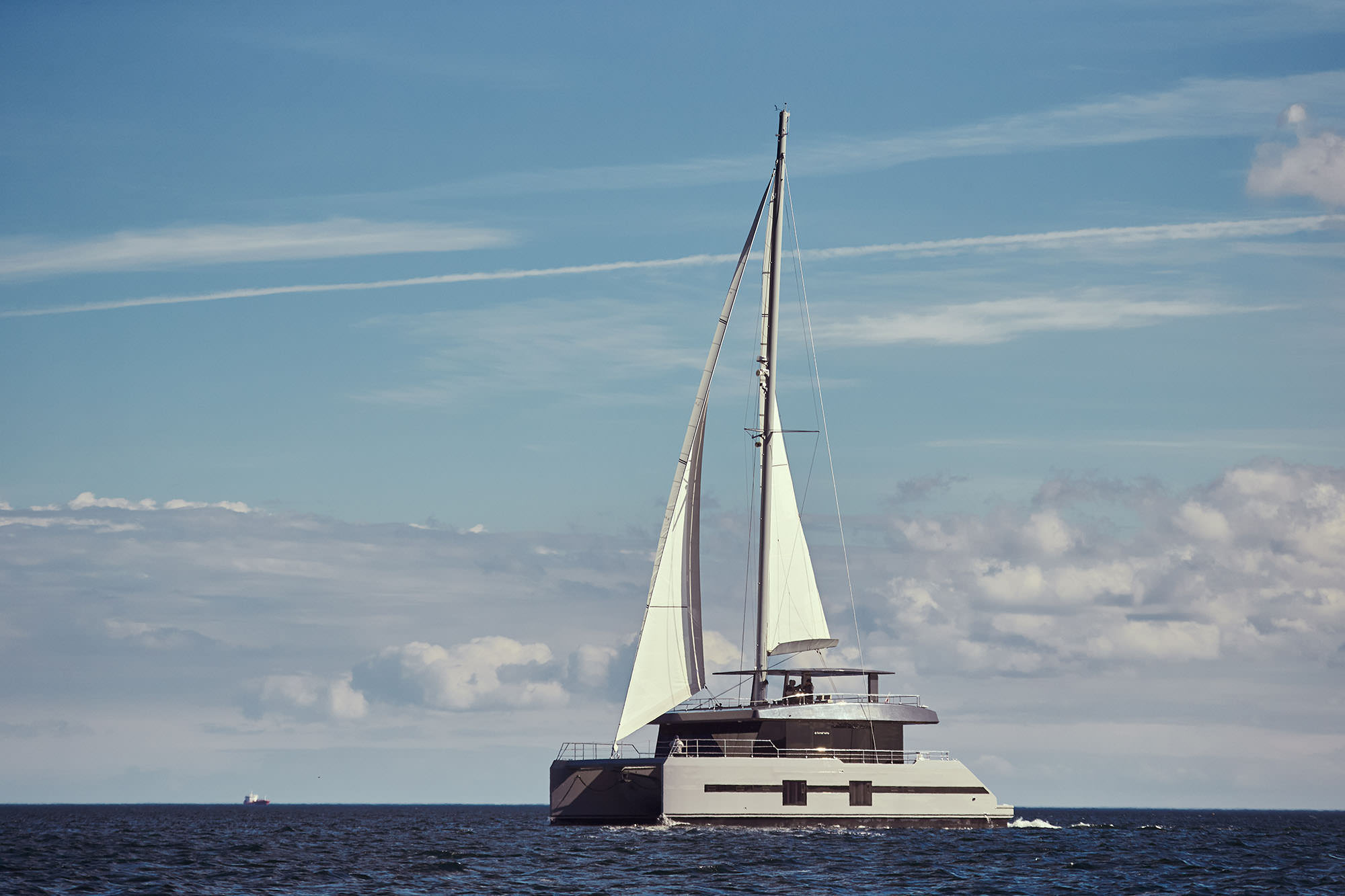 Launched Sail Catamaran for Sale  Sunreef Supreme 68-S Boat Highlights