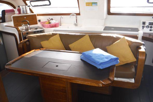 Used Sail Catamaran for Sale 2008 Catana 41 Layout & Accommodations