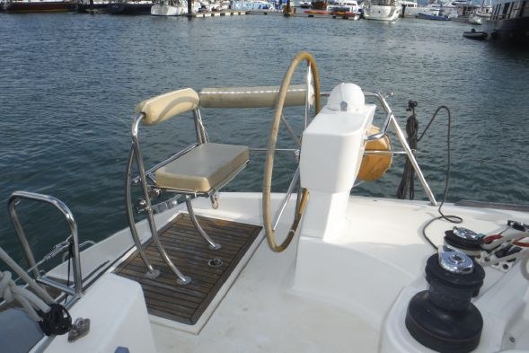 Used Sail Catamaran for Sale 2008 Catana 41 Deck & Equipment