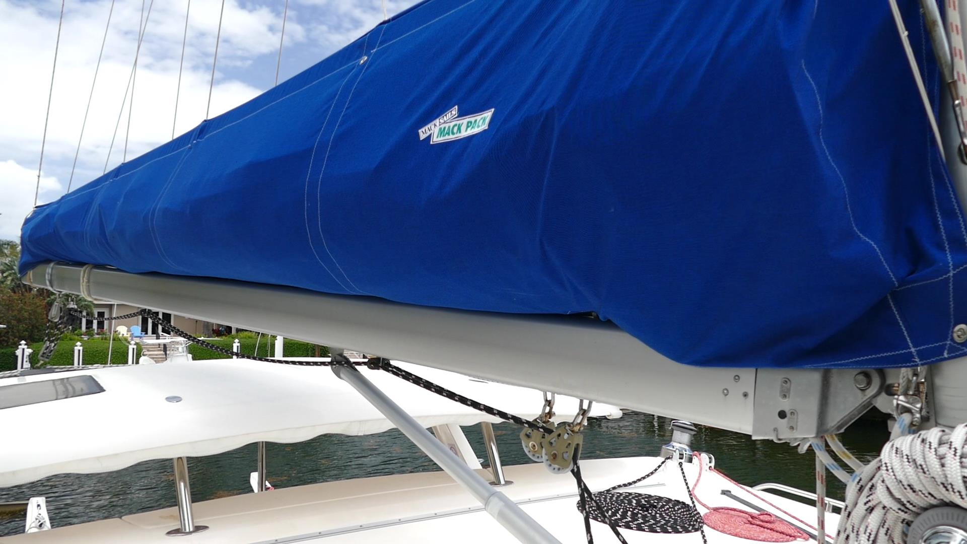 Preowned Sail Catamarans for Sale 2005 Leopard 43  Sails & Rigging