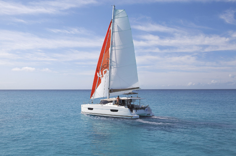 New Sail Catamarans for Sale 2020 LUCIA 40 Boat Highlights