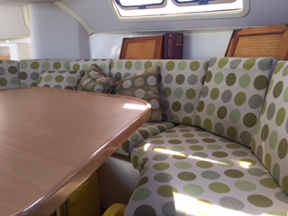Preowned Sail Catamarans for Sale 2001 Leopard 38 Galley