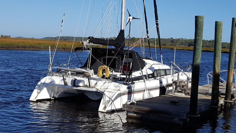 Preowned Sail Catamarans for Sale 1994 Prout 39 Boat Highlights