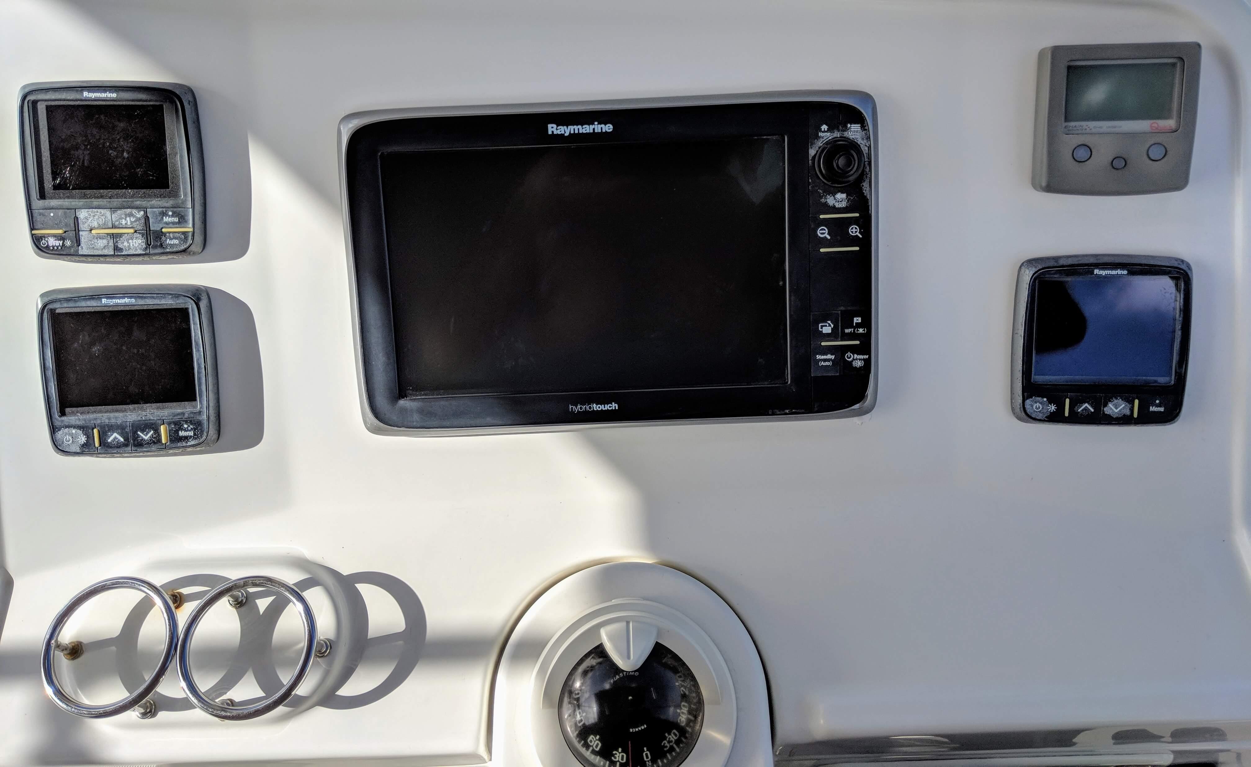 Used Sail Catamarans for Sale 2014 Lagoon 450 Electronics & Navigation