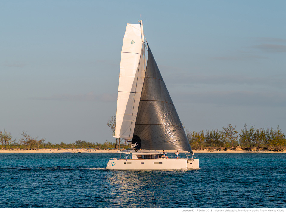 New Sail Catamarans for Sale  Lagoon 52 F Boat Highlights