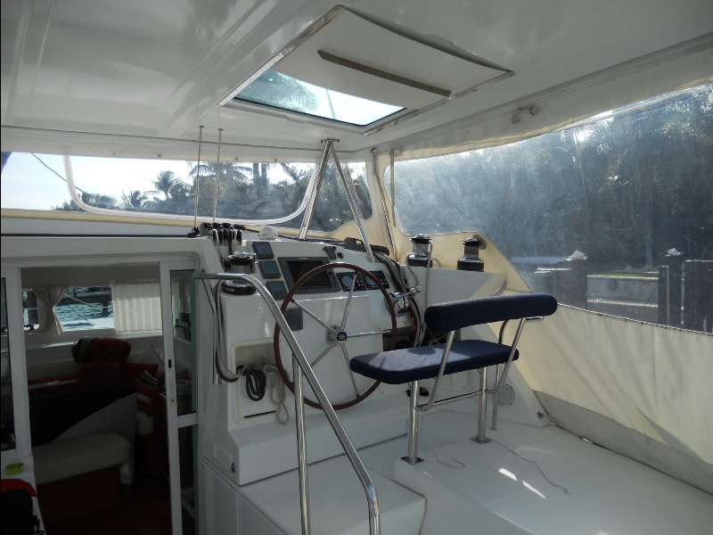 Used Sail Catamaran for Sale 2008 Lagoon 420 Deck & Equipment