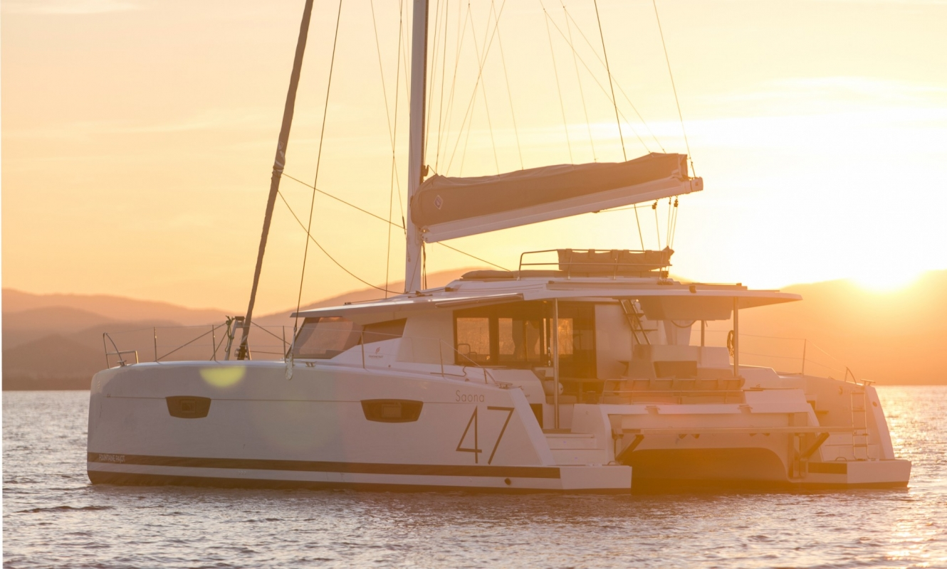 New Sail Catamarans for Sale  Saona 47 Boat Highlights