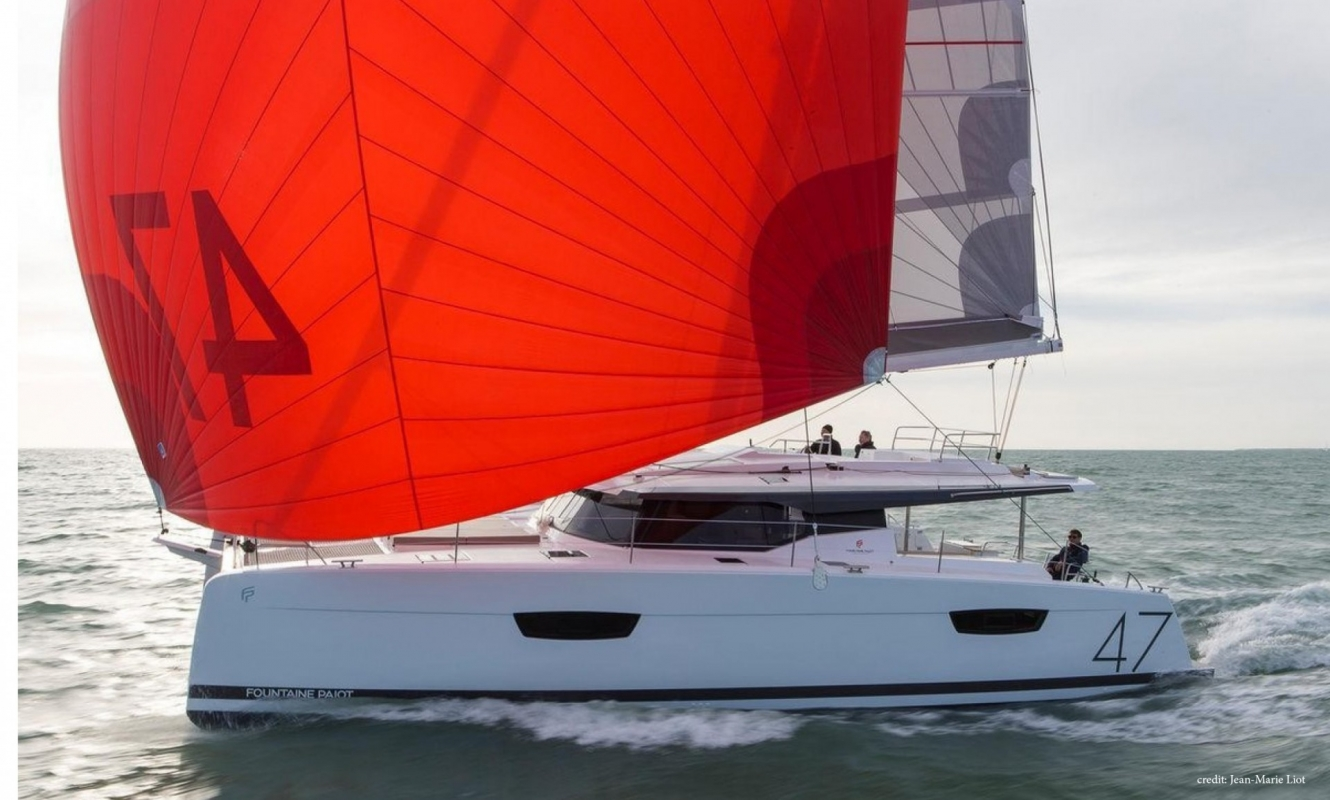 New Sail Catamaran for Sale  Saona 47 Boat Highlights