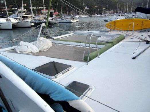 Used Sail Catamarans for Sale 1991 Lagoon 55 Deck & Equipment