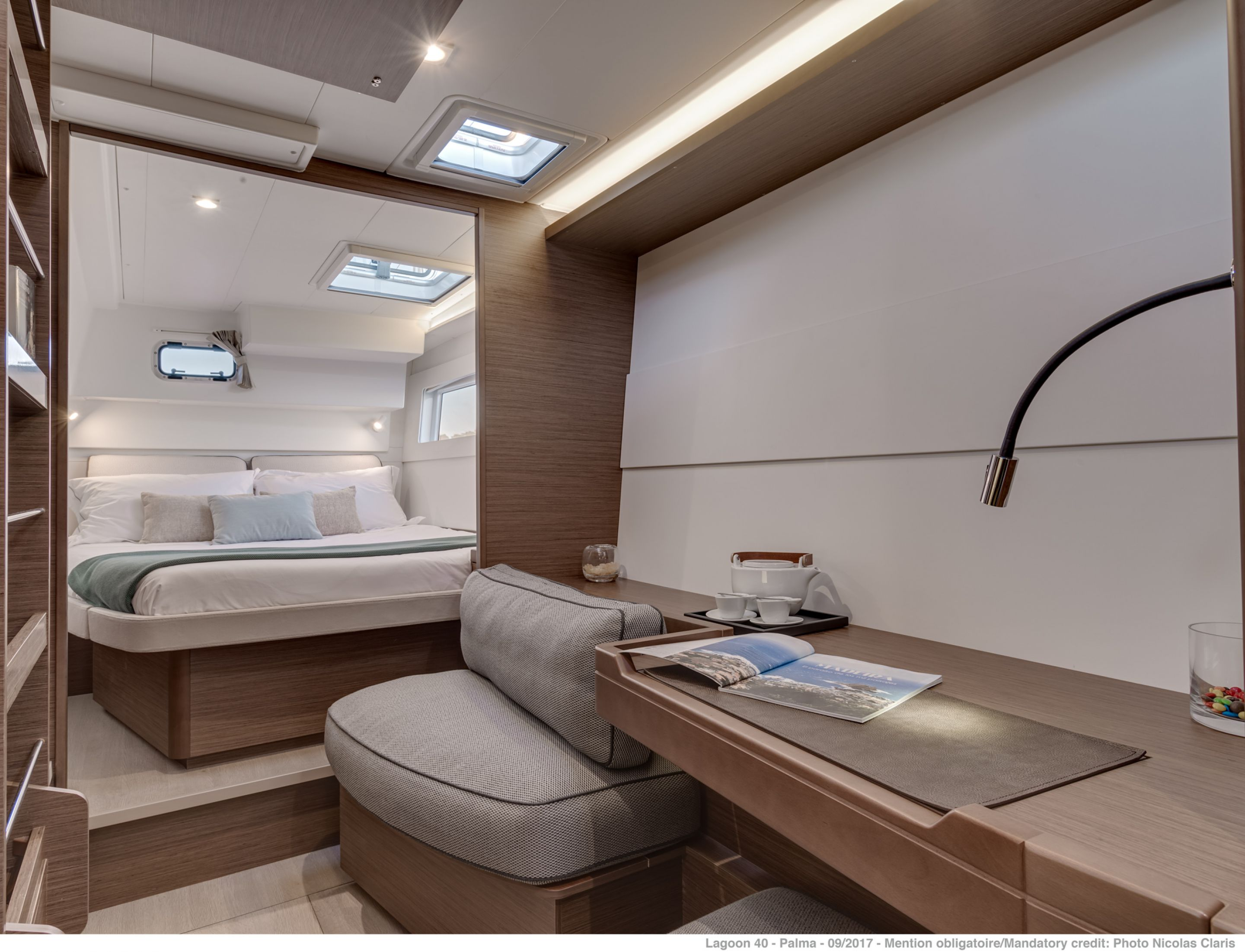 New Sail Catamarans for Sale 2020 Lagoon 40 Layout & Accommodations