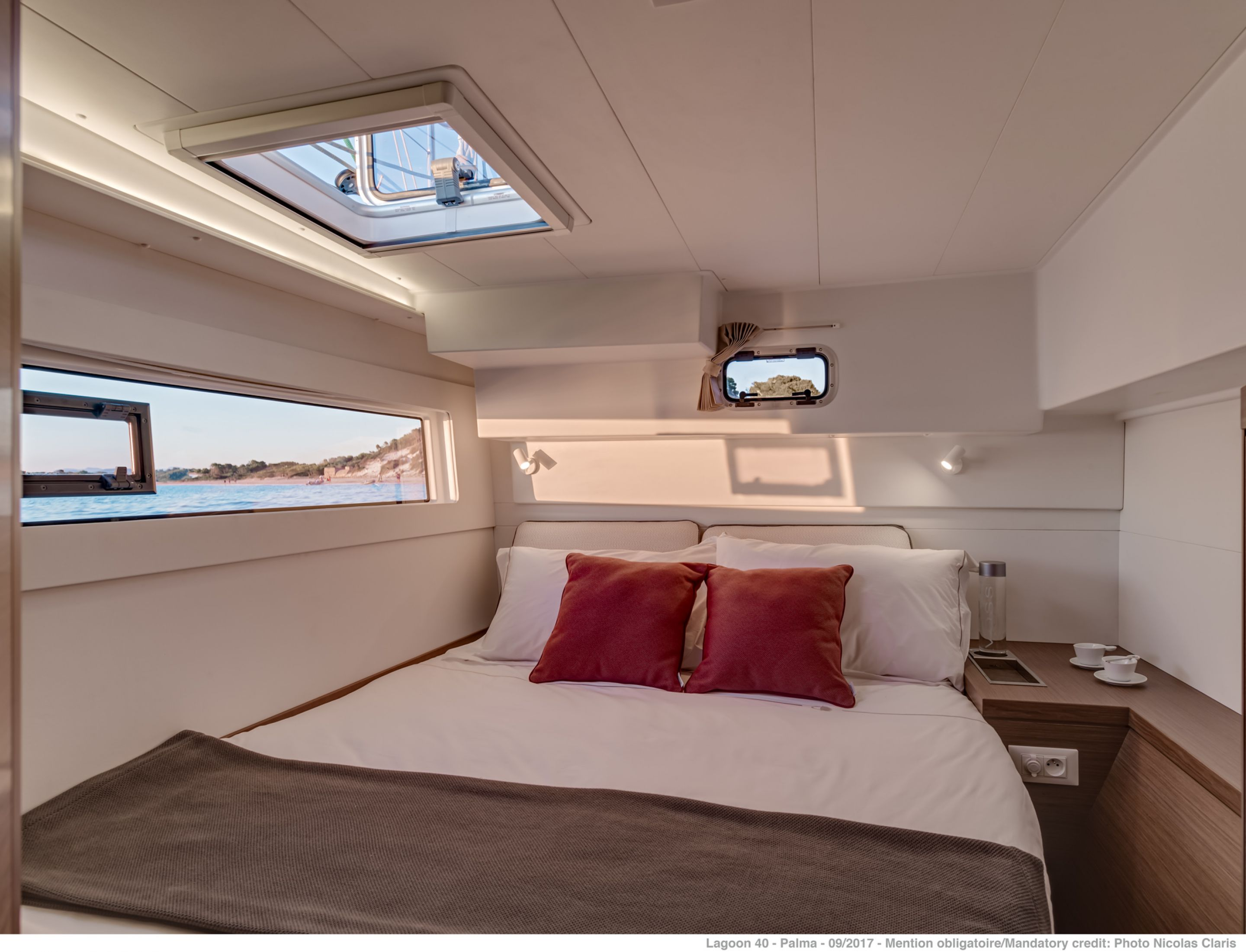 New Sail Catamaran for Sale 2020 Lagoon 40 Layout & Accommodations