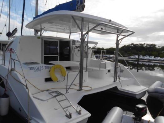 Preowned Sail Catamarans for Sale 2011 Leopard 38 Boat Highlights