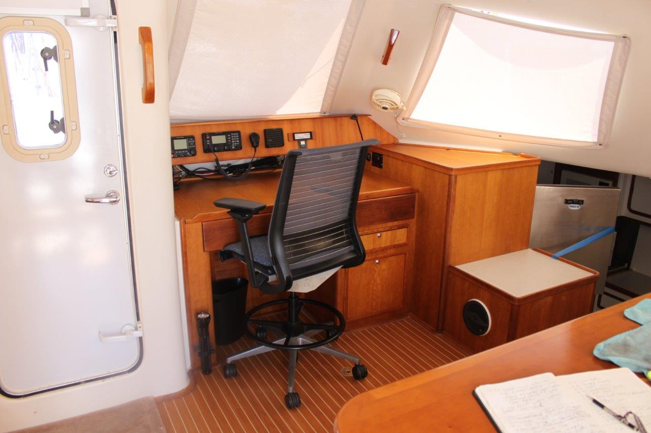 Used Sail Catamarans for Sale 2002 Atlantic 55 Electronics & Navigation