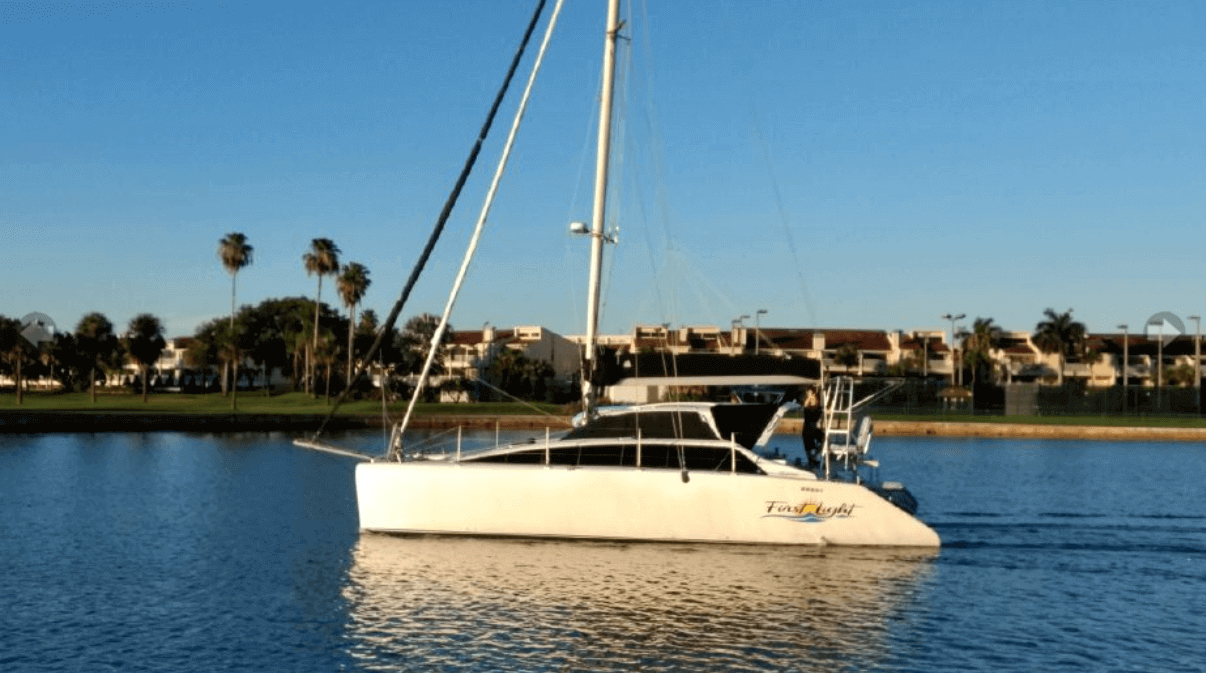 Used Sail Catamarans for Sale 2001 Lightwave 38
