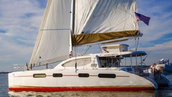 Preowned Sail Catamarans for Sale 2009 Leopard 46  Boat Highlights