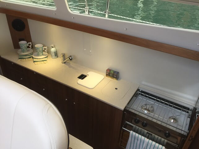 Used Sail Catamaran for Sale 2015 Legacy 35 Galley