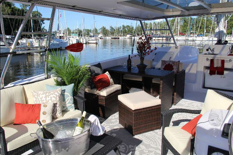 New Sail Catamaran for Sale 2017 Freestyle 37 Deck & Equipment