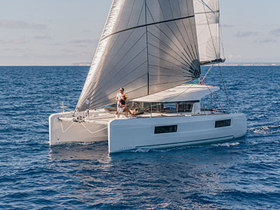 New Sail Catamarans for Sale  Lagoon 40
