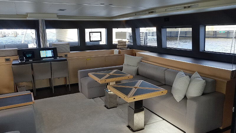 Preowned Sail Catamarans for Sale 2016 Lagoon 620  Layout & Accommodations