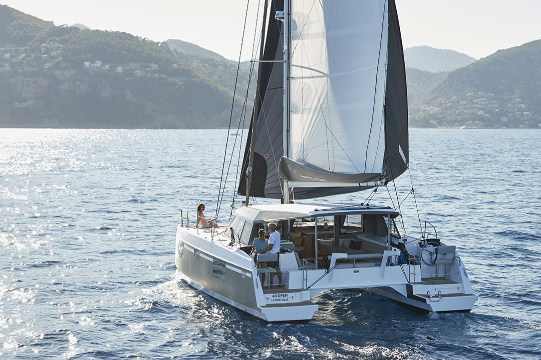 New Sail Catamaran for Sale 2018 Nautitech Open 40 Boat Highlights
