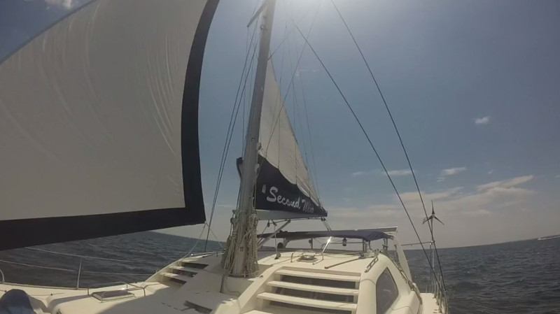 Used Sail Catamaran for Sale 2000 Leopard 38 Sails & Rigging