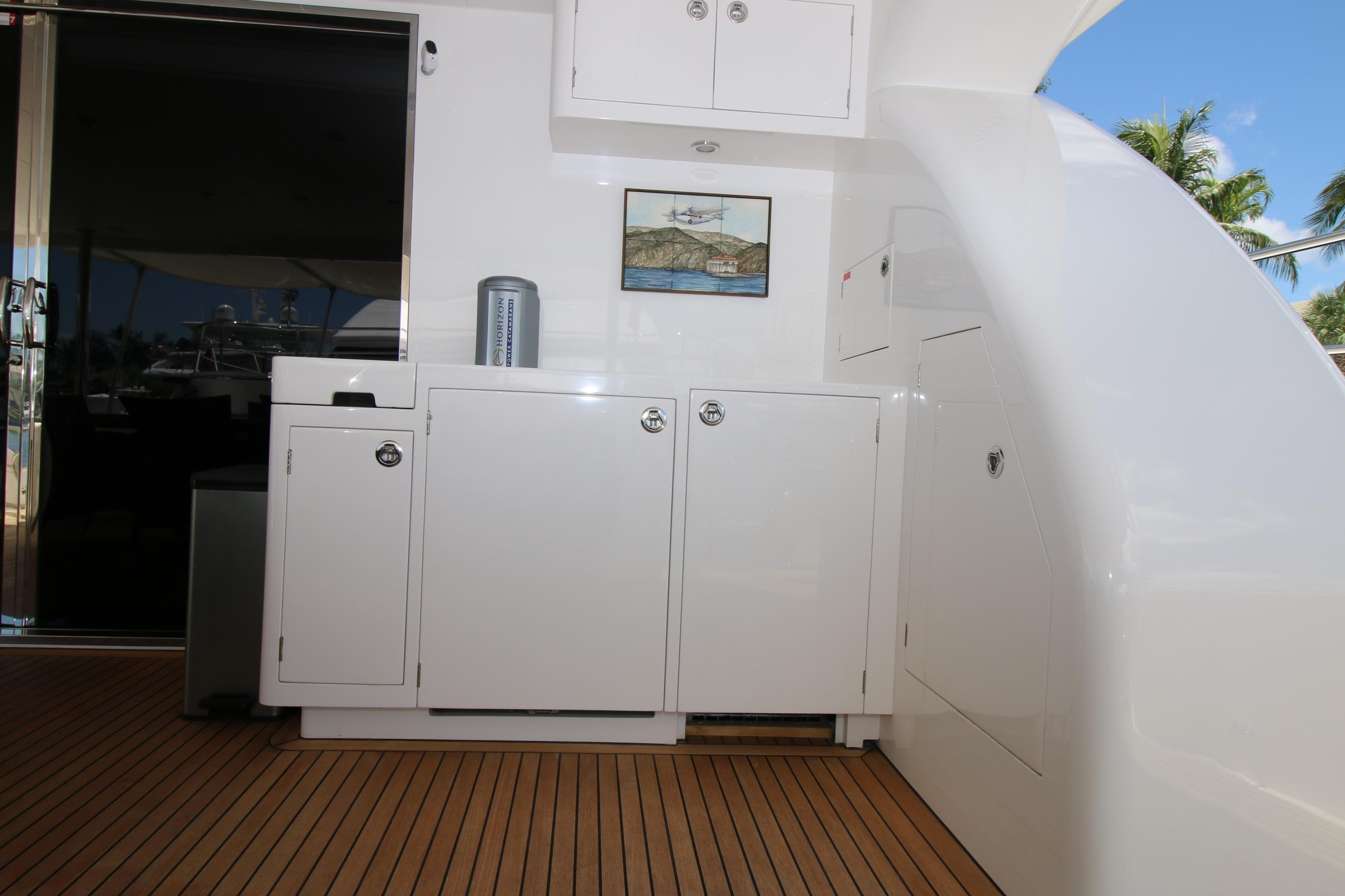 Used Power Catamaran for Sale 2014 PC60 Deck & Equipment
