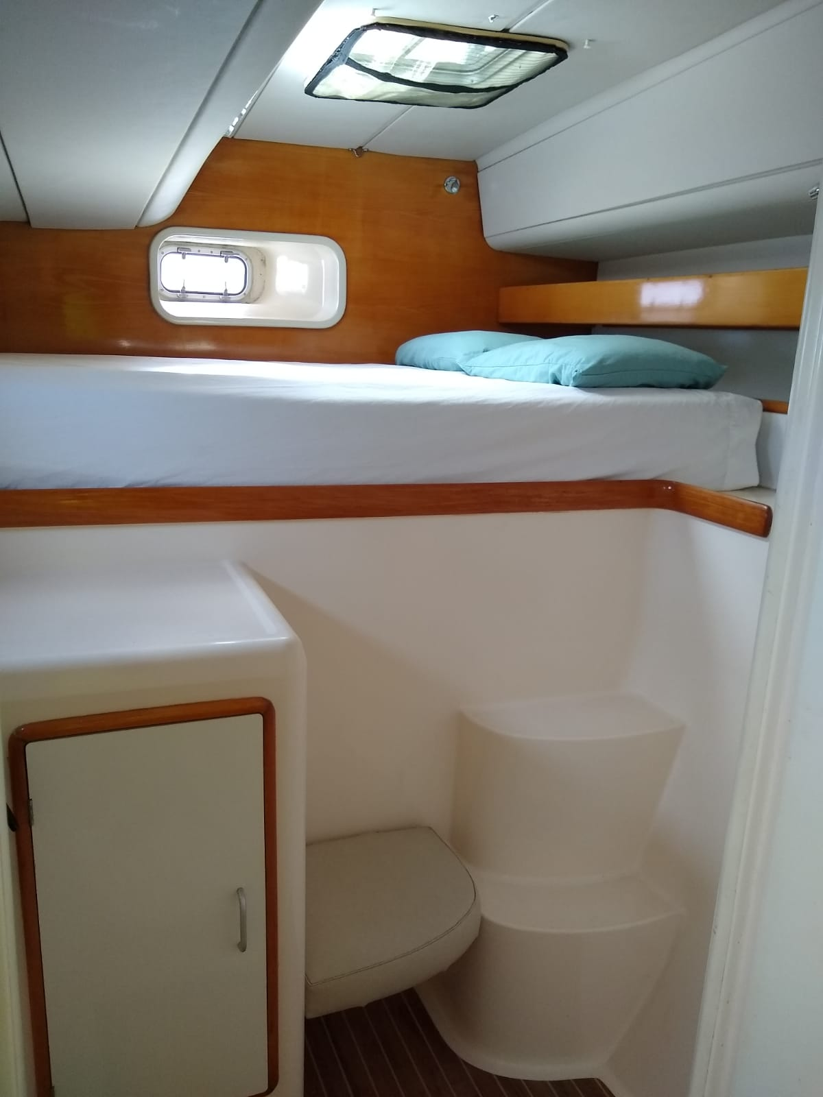 Used Sail Catamaran for Sale 1998 Leopard 45 Layout & Accommodations