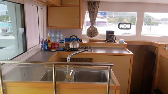 Used Sail Catamarans for Sale 2013 Lagoon 450 Galley