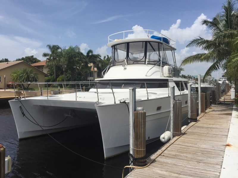 Used Power Catamarans for Sale 2008 Cumberland 46 Boat Highlights
