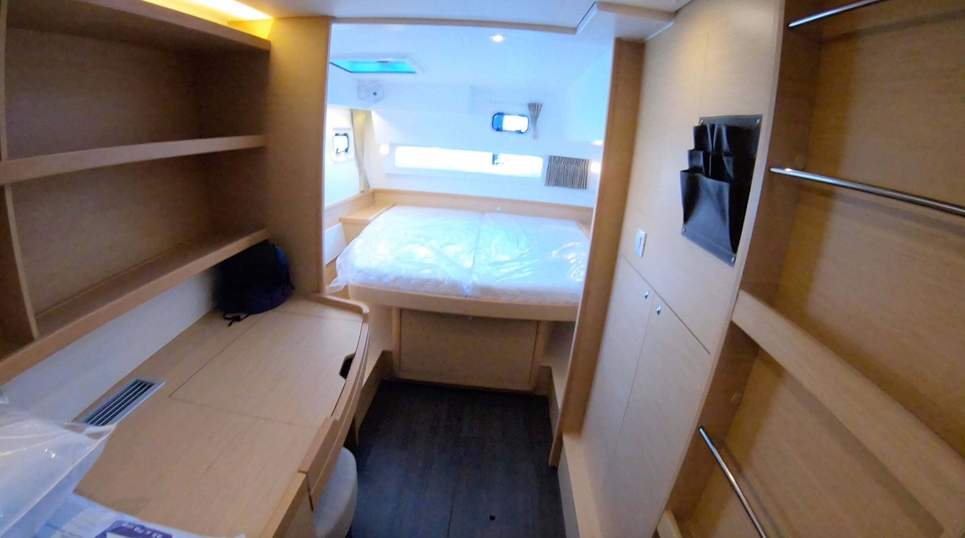 Used Sail Catamaran for Sale 2018 Lagoon 42 Layout & Accommodations