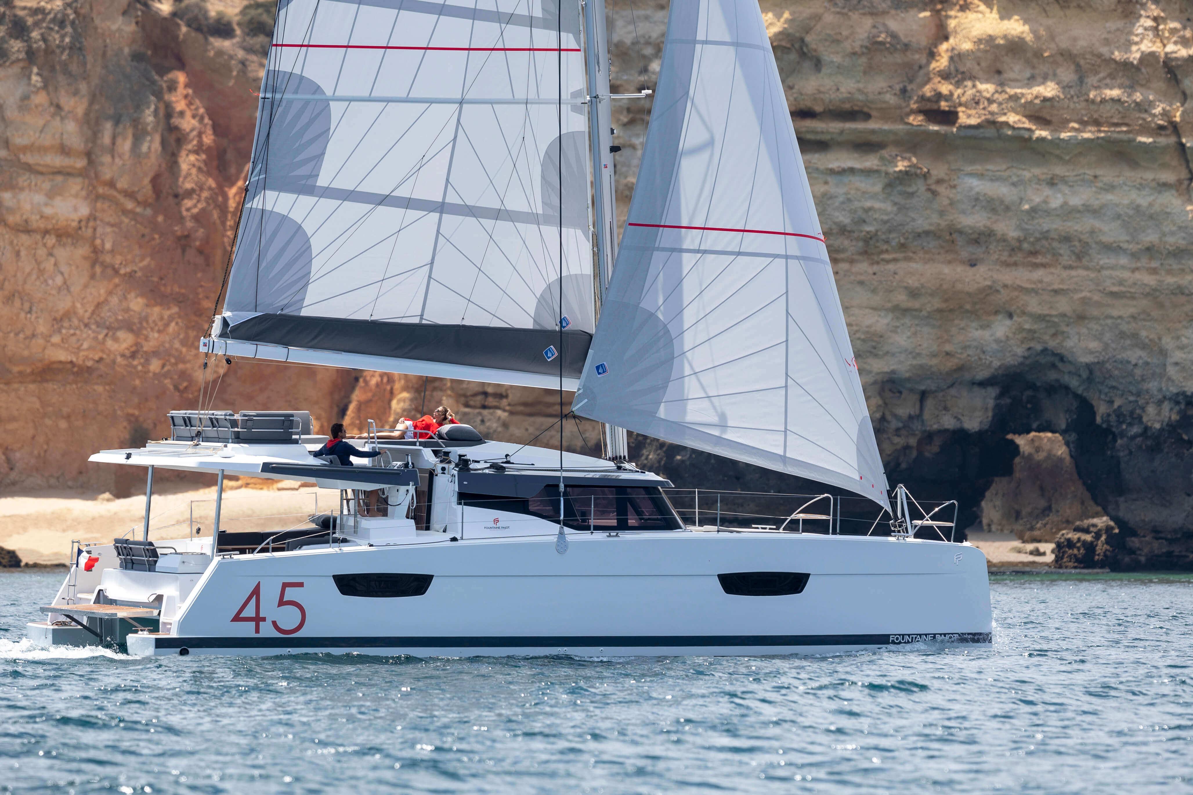 New Sail Catamaran for Sale 2021 Elba 45 Boat Highlights