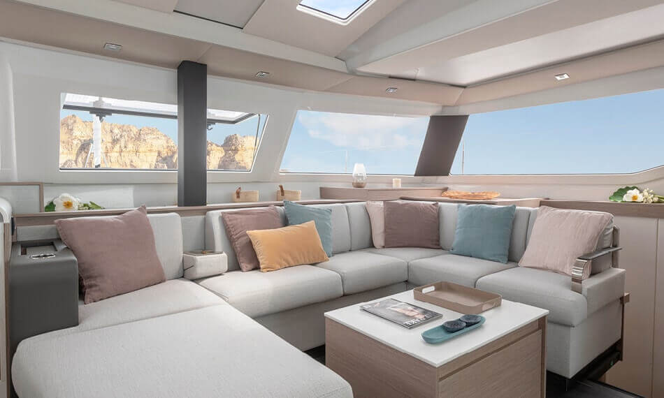 New Sail Catamaran for Sale 2021 Elba 45 Layout & Accommodations