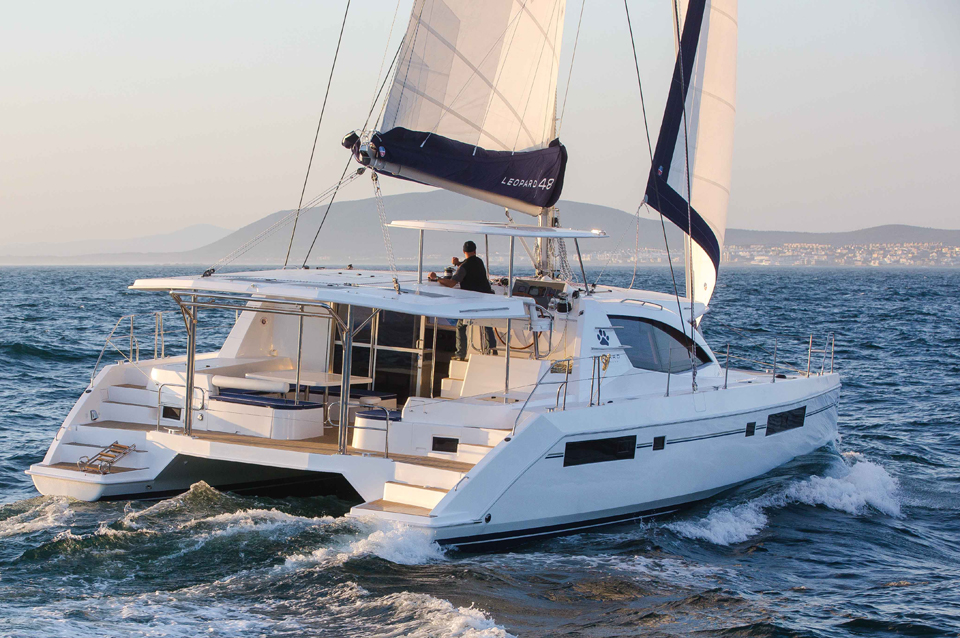Used Sail Catamaran for Sale 2015 Leopard 48 Boat Highlights