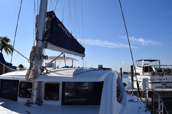 Used Sail Catamaran for Sale 2011 Leopard 39 Sails & Rigging