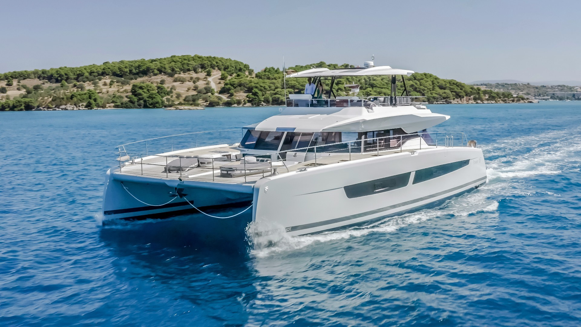 New Power Catamaran for Sale  Power 67 Boat Highlights