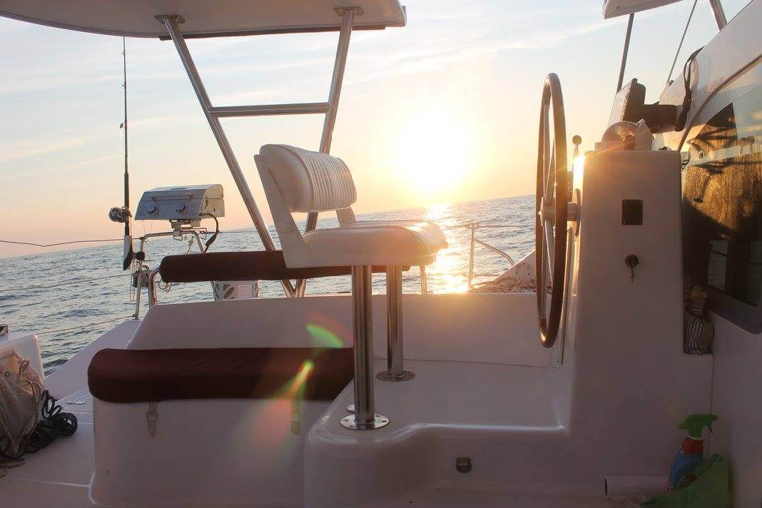 Used Sail Catamarans for Sale 2008 Privilege 445 Deck & Equipment