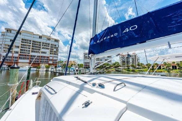Used Sail Catamaran for Sale 2017 Leopard 40 Sails & Rigging